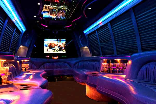 18 passenger party bus rental Fort Collins